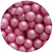 7mm Pink Glimmer Pearls 80g