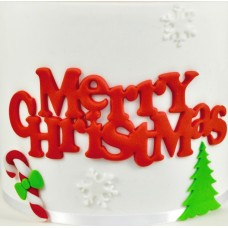 FMM Merry Christmas - Curved Words