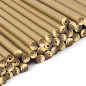 "6"" Gold Cake Pop Sticks Pk/50"