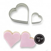 PME Cookie Heart Cutters Set/2