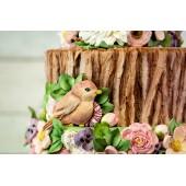 Karen Davies Rustic Woodland Bark Mould