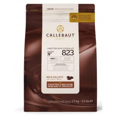 2.5kg Callebaut Belgian Milk Chocolate 33%