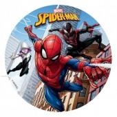 Spiderman Sugar Disc 16cm