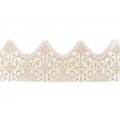 Ready Made Pearl Cake Lace Strips-Art Deco Pk/1