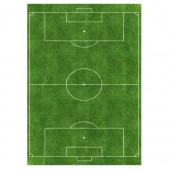 A4 Soccer Pitch Edible Icing Sheet