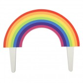 Gum Paste Rainbow Topper (not due back until mid May)