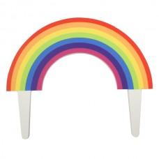 Gum Paste Rainbow Topper