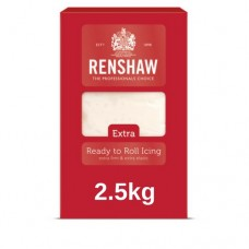 2.5kg Ready to Roll Renshaw Extra White Icing
