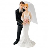Bride & Groom Cake Topper Design 1