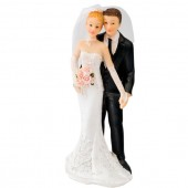 Bride & Groom Cake Topper Design 2