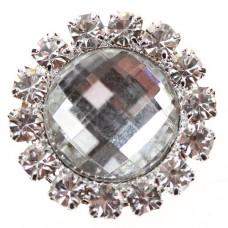 Diamante Gem Circle 20mm