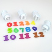 Large Cake Star Easy Push Number Cutters