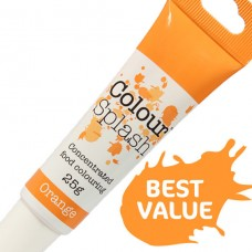 Colour Splash Gel - Orange