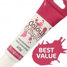 Colour Splash Gel - Burgandy