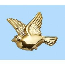 Gold Plastic Dove