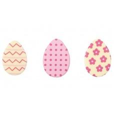 Dobla Belgian Chocolate Pink Easter Eggs Pk/12