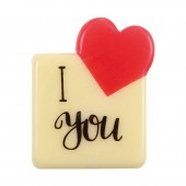 Belgian Chocolate I Love You Decorations Pk/10