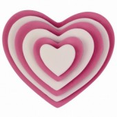 PME Heart Cutter Set/6