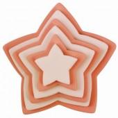 PME Star Cutter Set/6