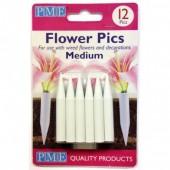 PME Medium Flower Pics Pk/12