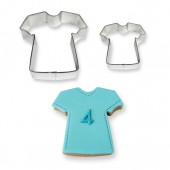 PME T Shirt Cookie Cutters Set/2