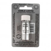 Edible Lustre Satin Silver