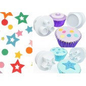 Cake Star Easy Push Shapes Cutters