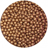 4mm Bronze Glimmer Pearls 80g