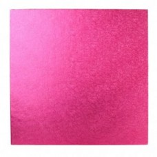 Square Cerise Pink Drum 14""