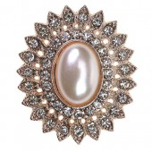 Rose Gold Tesoro Embellishment 30mm