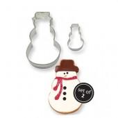 PME Snowman Cookie Cutters Set/2