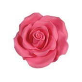 38mm Bright Pink Sugar Soft Roses Pk/20