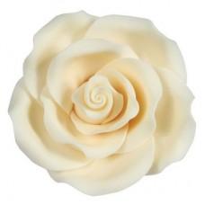 63mm Ivory Sugar Soft Roses Pk/8