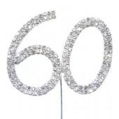 Diamante '60' topper