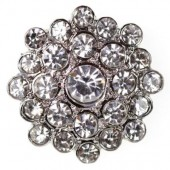 Diamante Estella Embellishment 25mm