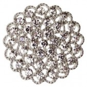 Diamante Filigree Embellishment 35mm