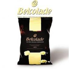 1kg Belcolade Belgian White Chocolate 28%