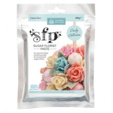 Squires Candy Blue Sugar Florist Paste 200g