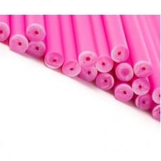 "6"" Pink Cake Pop Sticks Pk/50"
