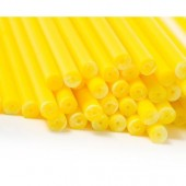 "6"" Yellow Cake Pop Sticks Pk/50"