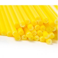 "6"" Yellow Cake Pop Sticks Pk/50"