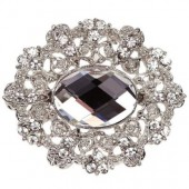 Diamante Marquise Embellishment 50mm