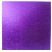 """Square Purple Drum 12"""""""