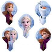Frozen Wafer Decorations Pk/24