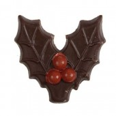 Belgian Chocolate Holly Leaf & Berries Box/160