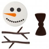 Belgian Chocolate Snowman Kit x 30 Sets