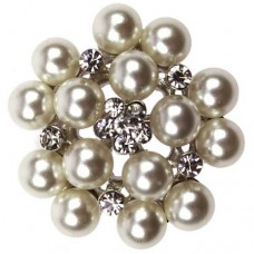 Mini Pearl Cluster Embellishment 30mm