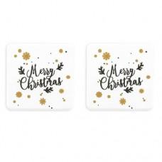Bulk Belgian Chocolate Merry Christmas Squares Box/120