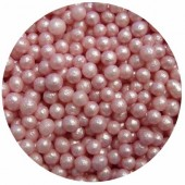 4mm Pink Glimmer Pearls 80g