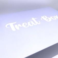 Powder Blue Treat Cupcake Boxes 12's